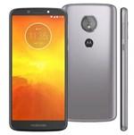 Ficha técnica e caractérísticas do produto Smartphone Moto E5 XT1944 16Gb 4G Tela 5.7 Câmera 13MP Android 8.0 Dual Chip - Platinum - Motorola