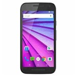 """Ficha técnica e caractérísticas do produto Smartphone Moto G 3 16GB, Dual Chip, Android, Câm. 13MP , Tela 5"""", 4G, Wi-Fi, XT1550 - Preto"""