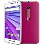 Smartphone Moto G™ (3ª Geração) Pink com Tela de 5'', Dual Chip, Android 5.1, 4G, Câmera 13MP e Processador Quad-Core de 1.4 GHz - Oi
