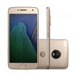 Ficha técnica e caractérísticas do produto Smartphone Moto G5 Plus TV XT1683 Ouro - Motorola