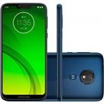 "Smartphone Motorola Moto G7 Power 64GB 4GB OctaCore 1.8GHz 6.2"" 12MP Bateria 5000mAh Android 9.0 Azul Navy"