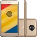 Ficha técnica e caractérísticas do produto Smartphone Moto XT1726 C Plus Ouro 8 GB - Motorola