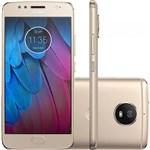Ficha técnica e caractérísticas do produto Smartphone Moto XT1792 G5S Ouro 32 GB - Motorola