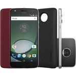 "Smartphone Moto Z Play Power Edition Dual Chip Android 6.0 Tela 5.5"" 32GB Câmera 16MP - Preto"