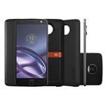 "Smartphone Moto Z Power & Sound Edition Dual Chip Android 6.0 Tela 5.5"" 64GB Câmera 13MP - Preto"