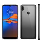Ficha técnica e caractérísticas do produto Smartphone Motorola E6 Plus XT2025 32GB 2GB RAM 13MP Tela 6.1-Cinza Metálico