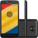 """Ficha técnica e caractérísticas do produto Smartphone Motorola Moto C 1ram 16gb Tela 5.0"""" Lte Dual Preto"""