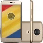 Ficha técnica e caractérísticas do produto Smartphone Motorola Moto C Plus XT1726 16GB, Dual Chip, 4G, Android 7.0, Câm 8MP, Tela 5, Wi - Fi Dourado