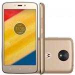 Ficha técnica e caractérísticas do produto Smartphone Motorola Moto C Plus XT1726 Ouro 16GB