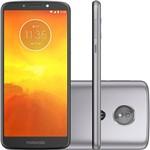 """Ficha técnica e caractérísticas do produto Smartphone Motorola Moto E5 Dual Chip Android Oreo - 8.0 Tela 5.7"""" Quad-Core 1.4 GHz 16GB 4G Câmera 13MP - Platinum"""
