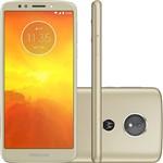 """Ficha técnica e caractérísticas do produto Smartphone Motorola Moto E5 32GB Nano Chip Android Tela 5.7"""" Qualcomm Snapdragon 425 4G Wi-Fi Câmera 13MP - Ouro"""