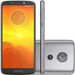 Ficha técnica e caractérísticas do produto Smartphone Motorola Moto E5 XT1944, 16GB, Dual Chip, 4G, Android 8.0, Câm 13 MP, Tela 5.7'', Wi-Fi Platinum