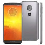 Ficha técnica e caractérísticas do produto Smartphone Motorola Moto E5 XT1944 16GB Tela 5.7'' Dual Chip Android 8.0 4G Câmera 13MP Processador Quad-Core 2GB de RAM - Platinum