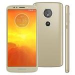 Smartphone Motorola Moto E5 XT1944 Ouro com 16GB, Tela 5.7'', Dual Chip, Android 8.0, 4G, Câmera 13MP, Processador Quad-...