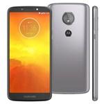 Ficha técnica e caractérísticas do produto Smartphone Motorola Moto E5 XT1944 Platinum com 16GB, Tela 5.7'', Dual Chip, Android 8.0, 4G, Câmera 13MP, Processador Quad-Core e 2GB de RAM