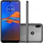 """Ficha técnica e caractérísticas do produto Smartphone Motorola Moto E6 Plus 32GB Dual Chip Android Pie 9.0 Tela 6.1"""" Helio P22 4G Câmera 13MP+2MP - Cinza"""