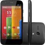 "Smartphone Motorola Moto G Desbloqueado TIM Android 4.3 Tela 4.5"" 8GB 3G Wi-Fi Câmera 5MP - Preto"