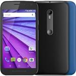 Ficha técnica e caractérísticas do produto Smartphone Motorola Moto G 3ª Geração Colors Dual Xt1550 Desbloqueado Preto