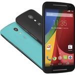 """Smartphone Motorola Moto G (2ª Geração) Dual Chip Desbloqueado TIM Android 4.4 Tela 5"""" 8GB 3G Wi-Fi Câmera de 8MP - Preto"""