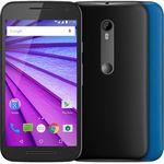 Ficha técnica e caractérísticas do produto Smartphone Motorola Moto G3ª Geração XT1550 4G Dual Chip 16GB Preto