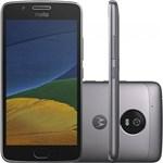 Ficha técnica e caractérísticas do produto Smartphone Motorola Moto G5 XT1672 32GB, Dual Chip, 4G, Android 7.0, Câm 13MP, Tela 5, Wi -Fi Platinum
