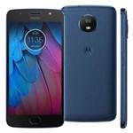 Ficha técnica e caractérísticas do produto Smartphone Motorola Moto G5s XT1792 Azul Safira com 32GB, Tela de 5.2'', Dual Chip, Android 7.1, 4G, Câmera 16MP, Processador Octa-Core e 2GB de RAM