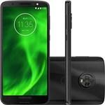 Ficha técnica e caractérísticas do produto Smartphone Motorola Moto G6 64GB Dual CHIP Android Oreo 8.0 Tela 5.7P OCTA-CORE 1.8 GHZ 4G Camera 12 + 5MP Dual Traseira Preto
