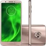Smartphone Motorola Moto G6 64GB Dual Chip Tela 5.7 Octa-Core 1.8 GHz 4G Câmera 12 + 5MP (Dual Traseira) - Ouro Rose