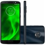 "Ficha técnica e caractérísticas do produto Smartphone Motorola Moto G6 32GB Dual Chip Android Oreo - 8.0 Tela 5.7"" Octa-Core 1.8 GHz 4G Câmera 12 + 5MP - Índigo"