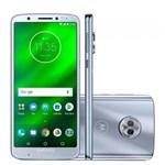 "Ficha técnica e caractérísticas do produto Smartphone Motorola Moto G6 32GB Dual Chip Android Oreo - 8.0 Tela 5.7"" Octa-Core 1.8 GHz 4G Câmera 12 + 5MP Prata"