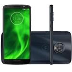 """Ficha técnica e caractérísticas do produto Smartphone Motorola Moto G6 Tela 5.7"""" 32GB 3GB RAM Câm 12MP + 5MP + Frontal 8MP Dualchip Cor Azul"""