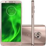 Ficha técnica e caractérísticas do produto Smartphone Motorola Moto G6 XT1925 64GB, Dual Chip, 4G, Android 8.0, Câm 12MP, Tela 5.7. Wi-Fi Ouro Rose