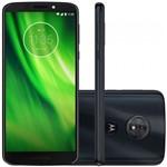 Ficha técnica e caractérísticas do produto Smartphone Motorola Moto G6 XT1925 32GB Dual Chip, 4G, Android 8.0, Câm 12MP, Tela 5.7, Wi-Fi Indigo
