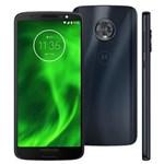 Ficha técnica e caractérísticas do produto Smartphone Motorola Moto G6 XT1925 Índigo com 32GB, Tela de 5.7'', Dual Chip, Android 8.0, 4G, Câmera Traseira Dupla, Processador Qualcomm Snapdragon