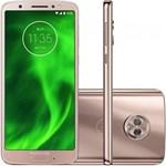 Ficha técnica e caractérísticas do produto Smartphone Motorola Moto G6 XT1925 Ouro Rosê 64GB, Tela de 5.7, Dual Chip, Android 8.0, Câmera Traseira Dupla, Processador Octa-Core e 4GB de RAM