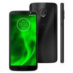 Ficha técnica e caractérísticas do produto Smartphone Motorola Moto G6 XT1925 Preto com 64GB, Tela de 5.7'', Dual Chip, Android 8.0, Câmera Traseira Dupla, Processador Octa-Core e 4GB de RAM