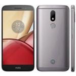 "Smartphone Motorola Moto M XT1663 32GB/4GB LTE Dual Sim Tela 5.5"" Câm.16MP+8MP-Cinza"