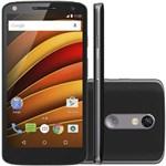 "Ficha técnica e caractérísticas do produto Smartphone Motorola Moto X Forc"", 4G Android 5.1 Processador Octa Core 64GB Camêra 21.0MP Tela 5."", Preto"
