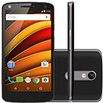"Smartphone Motorola Moto X Force Dual Chip Android 5.0 Tela 5.4"" 64GB 4G Câmera 21MP - Preto"