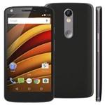 Ficha técnica e caractérísticas do produto Smartphone Motorola Moto X Force XT1580 Preto com 64GB, Tela de 5.4'', Dual Chip, Android 5.1, 4G, Câmera 21MP e Processador Qualcomm Octa-Core