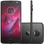 Smartphone Motorola Moto Z2 Force XT1789 64GB, Dual Chip, 4G, Android 7.1, Câm 12MP, Tela 5.5'', Wi-Fi Onix