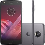 """Ficha técnica e caractérísticas do produto Smartphone Motorola Moto Z2 Play Gamepad Edition Dual Chip Android 7.0 Tela 5.5"""" Octa-Core 64GB Wi-Fi 4G Câmera 12MP - Platinum"""