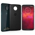 """Ficha técnica e caractérísticas do produto Smartphone Motorola Moto Z3 Play Style Edition Dual Chip Android Oreo - 8.0 Tela 6"""" Octa-Core 1.8 GHz 64GB 4G Câmera 12 + 5MP (Dual Traseira) - Índigo"""