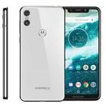 "Ficha técnica e caractérísticas do produto Smartphone Motorola One XT1941 64GB Tela de 5,9"", Dual Chip, Android 8.1, Câmera Traseira Dupla, Processador Octa-Core e 4GB de RAM - Branco"