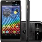 "Smartphone Motorola Razr D3 Dual Chip Android 4.1 Tela 4"" 3G Wi-Fi Câmera 8MP - Preto"