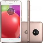 Ficha técnica e caractérísticas do produto Smartphone Motorola XT1763 Moto E4 Ouro Rosê 16 GB