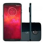 Ficha técnica e caractérísticas do produto Smartphone Motorola Z3 Play Dual Chip Android 8.0 Tela 6 64GB 4G Câmera 12MP+5MP Dual Câmera