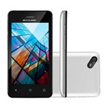 Smartphone Ms40s Quad Core 1.2 Ghz Nb252 Câmera 5mp Multilaser Branco