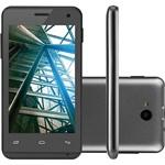 "Ficha técnica e caractérísticas do produto Smartphone Multilaser MS40 Dual Chip Android Tela 4"" 4GB 3G Câmera 5MP - Preto"
