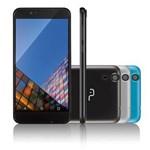 "Ficha técnica e caractérísticas do produto Smartphone Multilaser MS55 Colors Tela 5,5"" Câmera 5.0 MP+8.0MP 3G Quad Core Ram 1GB+Flash 8GB Android 5.1 Preto - P9003"